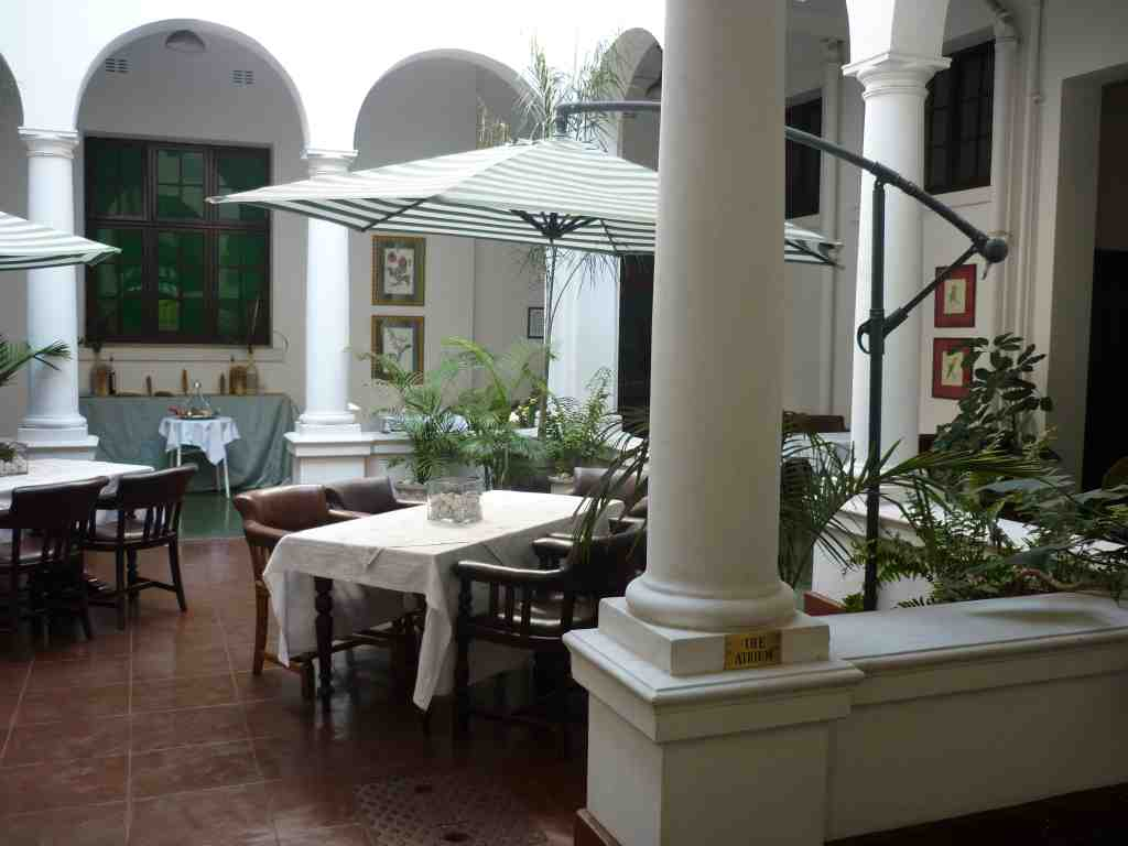 The Bulawayo Club Atrium