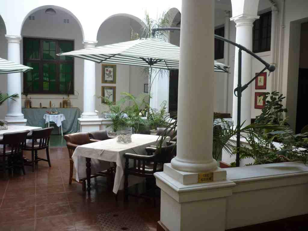 The Bulawayo Club Atrium