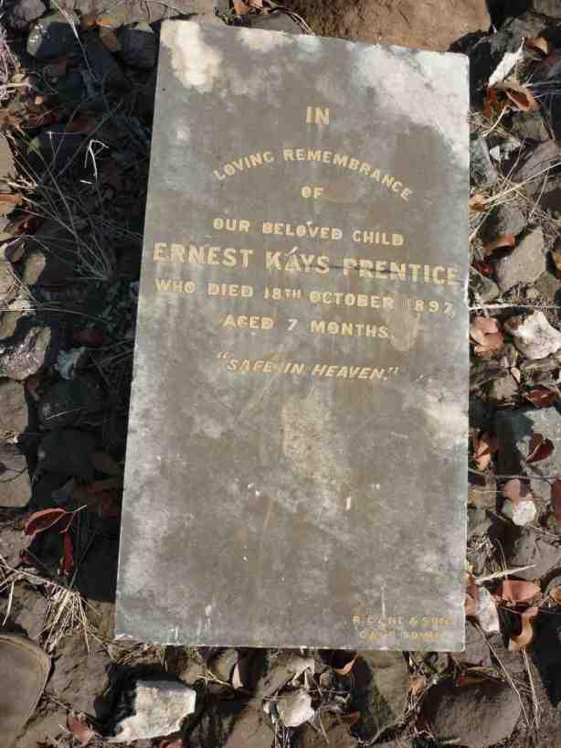 Ernest Kays Prentice Fort Tuli