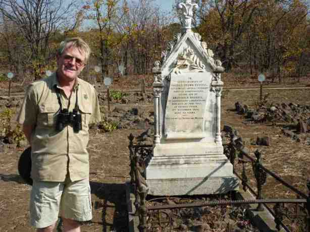Patrick Brown Russel Headstone Fort Tuli
