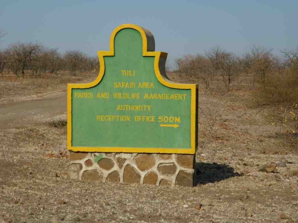 National Parks Tuli Circle Safari Area