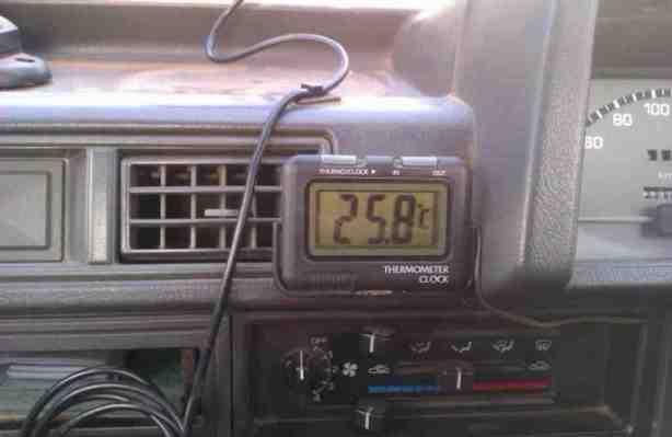 Warm Temperature Thermometer