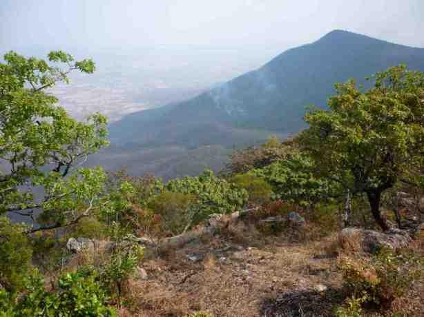 Dangamvuri Hwedza Mountain Bush fire