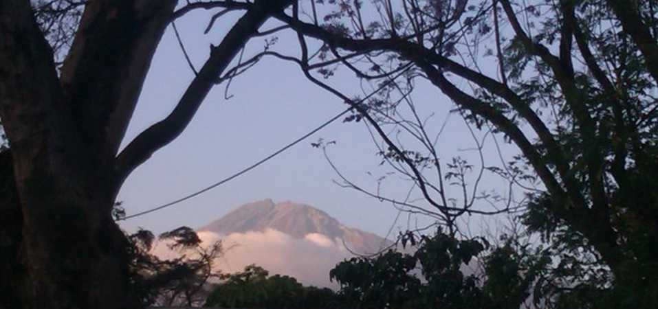 Mt Meru Arusha National Park