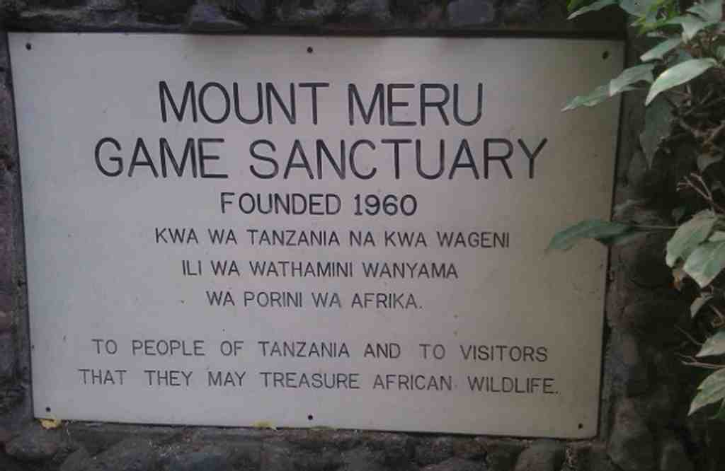 Mt Meru lodge