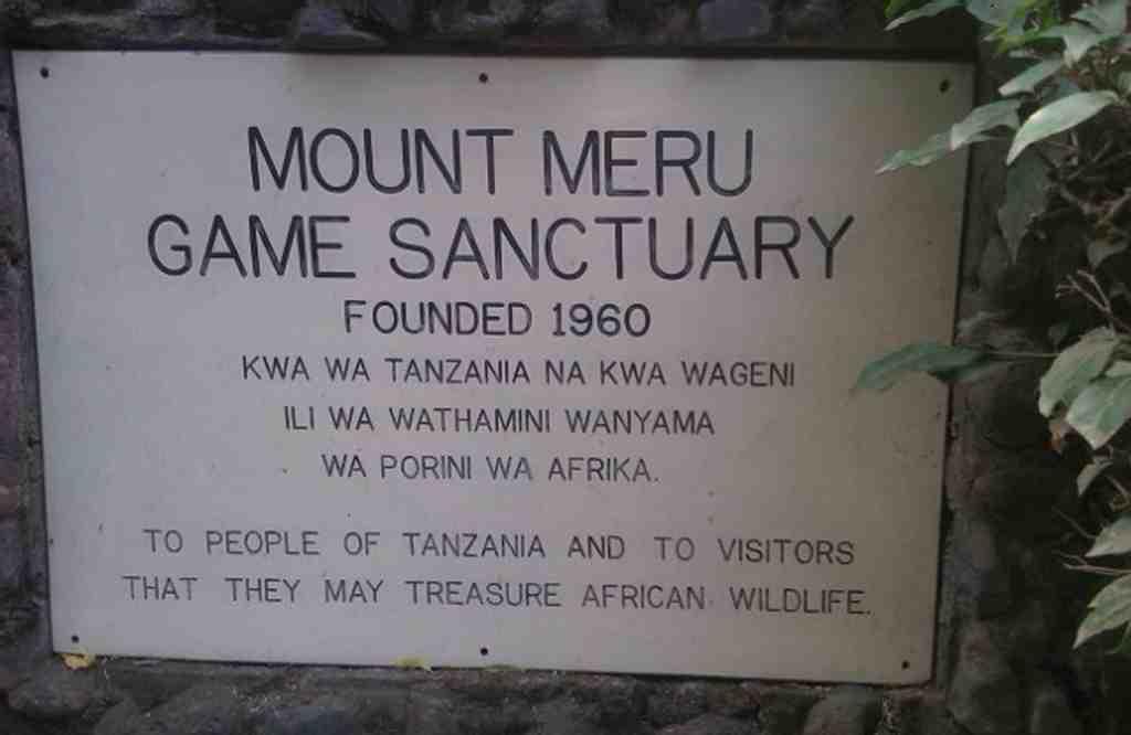 Mt Meru lodge