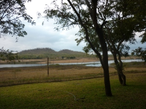 Situated on a very empty Lake Chicamba