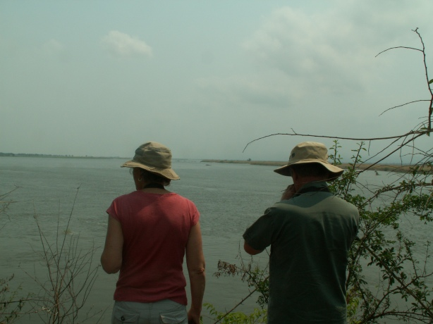The Zambesi is a huge river as JBW and AJS discover