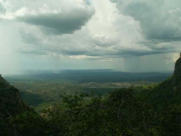 Zambezi rain storms