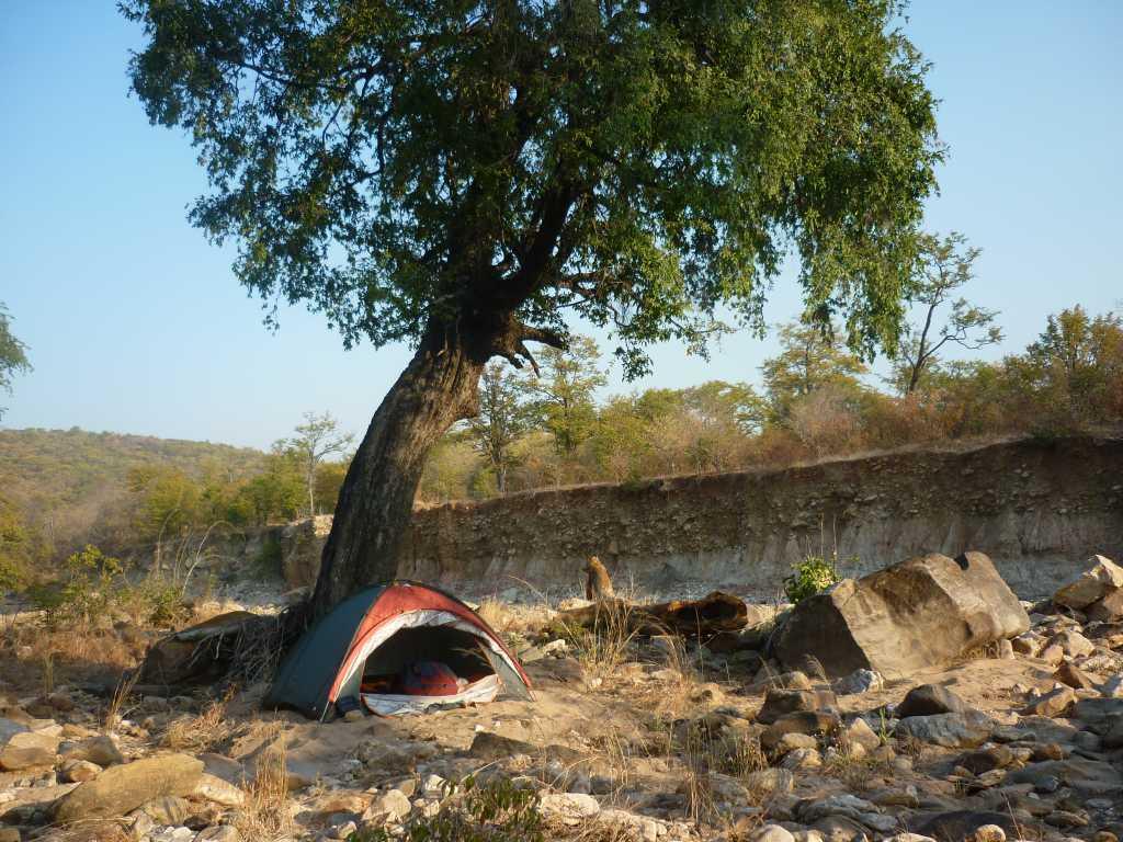 Bubu River camp